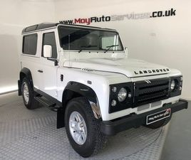 2013 LAND ROVER DEFENDER 2.2 TD COUNTY STATION WAGON 1D 122 BHP