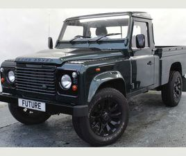 LAND ROVER DEFENDER 110 2.4 TDI PICK-UP 2DR (HIGH CAPACITY)TWO OWNERS / FULL RESPRAY