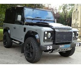 USED LAND ROVER DEFENDER 90 2.2 TD XS STATION WAGON 3DR SMC SPECTRUM AUTOMOTIVE OVERLAND F