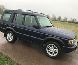 £6,250|LAND ROVER DISCOVERY 2.5 TD5 LANDMARK 5DR (7 SEATS)