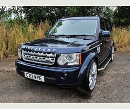 LAND ROVER DISCOVERY 4 3.0 SD V6 XS 4X4 5DR+LEATHER, SAT NAV, 22 ALLOYS+