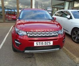 2015 LAND ROVER DISCOVERY SPORT 2.2 SD4 HSE 5DR AUTO