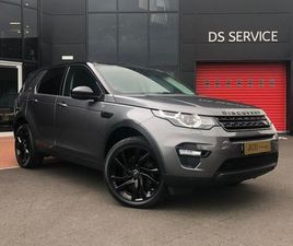 LAND ROVER DISCOVERY SPORT 2.0 TD4 HSE BLACK 4X4 5DR