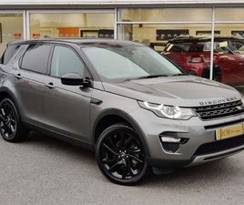LAND ROVER DISCOVERY SPORT 2.0 TD4 HSE BLACK AUTO 4WD (S/S) 5DR 7 SEAT