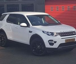 LAND ROVER DISCOVERY SPORT 2.0 TD4 SE TECH 4WD (S/S) 5DR 7 SEAT