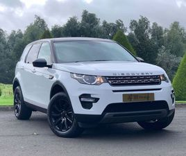 LAND ROVER DISCOVERY SPORT 2.0 TD4 SE TECH 4WD (S/S) 5DR