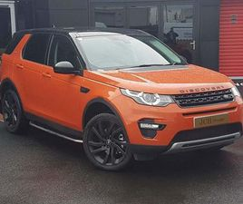LAND ROVER DISCOVERY SPORT 2.2 SD4 HSE 4WD (S/S) 5DR