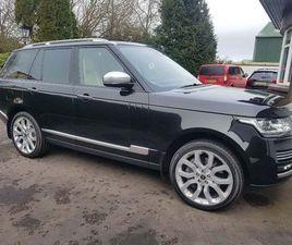 £33,495|LAND ROVER RANGE ROVER 4.4 SD V8 VOGUE SE AUTO 4WD 5DR