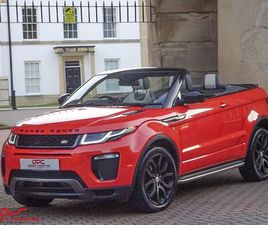 £26,000 LAND ROVER RANGE ROVER EVOQUE 2.0 TD4 HSE DYNAMIC LUX AUTO 4WD (S/S) 2DR