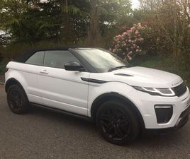 LAND ROVER RANGE ROVER EVOQUE 2.0 TD4 HSE DYNAMIC 4WD (S/S) 2DRYULONG WHITE BLACK PACK ALL