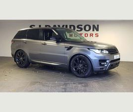 LAND ROVER RANGE ROVER SPORT 3.0 SD V6 HSE COMMANDSHIFT 2 4X4 (S/S) 5DRFULL AUTOBIOGRAPHY