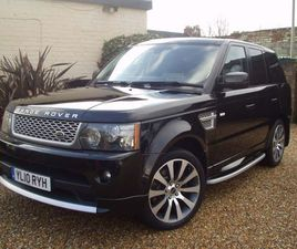 LAND ROVER RANGE ROVER SPORT 3.6 TD V8 AUTOBIOGRAPHY SPORT LE 5DRFULL SERVICE HISTORY, FUL