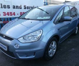 08 FORD S-MAX 1.8CDTI WARRANTY FOR SALE IN DUBLIN FOR €3450 ON DONEDEAL