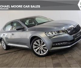 SKODA SUPERB IV STYLE 1.4TSI 218BHP HYBRID FOR SALE IN WESTMEATH FOR € ON DONEDEAL
