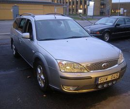 FORD MONDEO 2,2 TDCI DRAG.
