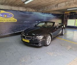 BMW 635 CABRIO A GASÓLEO NA AUTO COMPRA E VENDA