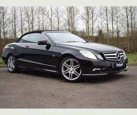 MERCEDES-BENZ E CLASS 2.1 E220 CDI BLUEEFFICIENCY SPORT CABRIOLET 2DR*FULL SERVICE HISTORY