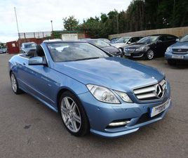 MERCEDES-BENZ E CLASS 2.1 E220 CDI BLUEEFFICIENCY SPORT CABRIOLET G-TRONIC 2DRONLY 1 FORME