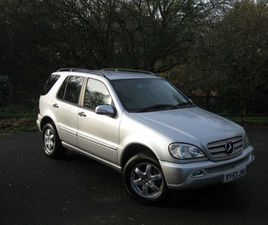 MERCEDES-BENZ M CLASS 2.7 ML270 CDI INSPIRATION EDITION 5DRONE OWNER !!!