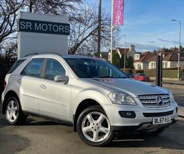 MERCEDES-BENZ M CLASS 3.0 ML280 CDI SPORT 5DRSERVICE HISTORY+LEATHER +3.0