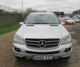 MERCEDES  ML 280 CDI SE AUTOMATIC  2006 (56) DIESEL, 130,246 MILES, SERVICE HISTORY, ROOF