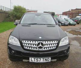 MERCEDES  ML 280 ED-S CDI 4-MATIC  2007 (57) DIESEL, 111,875 MILES, FULL SERVICE HISTORY,