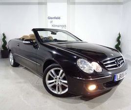 MERCEDES-BENZ CLK 1.8 CLK200 KOMPRESSOR AVANTGARDE CABRIOLET 2DRFULL LEATHER / SAT NAV