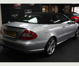 MERCEDES-BENZ CLK 1.8 CLK200 KOMPRESSOR SPORT CABRIOLET 2DR1 OWNER VERY LOW MILES