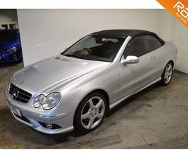 MERCEDES-BENZ CLK 1.8 CLK200 KOMPRESSOR SPORT CABRIOLET 2DRJUST BEEN SERVICED FULL YR MOT