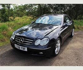 MERCEDES-BENZ CLK 2.1 CLK220 CDI AVANTGARDE 2DR++LONG MOT & 40+ MPG++