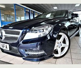 MERCEDES-BENZ CLS 2.1 CLS250 BLUEEFFICIENCY AMG SPORT 7G-TRONIC PLUS (S/S) 4DRFULL MERCEDE