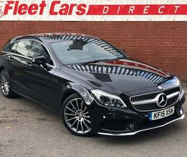 MERCEDES-BENZ CLS 3.0 CLS350D V6 AMG LINE SHOOTING BRAKE G-TRONIC+ (S/S) 5DRWHAT A CAR WHA