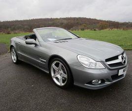 £14,995|MERCEDES-BENZ SL CLASS 3.5 SL350 7G-TRONIC 2DR