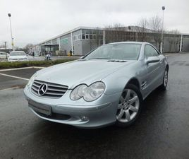 MERCEDES-BENZ SL CLASS 5.0 SL500 2DRLOW LOW MILEAGE