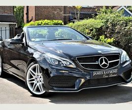 MERCEDES-BENZ E CLASS 2.1 E220D AMG LINE EDITION CABRIOLET G-TRONIC (S/S) 2DRAIR SCARF,FUL