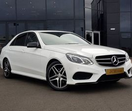 MERCEDES-BENZ E CLASS 2.1 CDI BLUETEC AMG NIGHT EDITION 7G-TRONIC PLUS 4DR