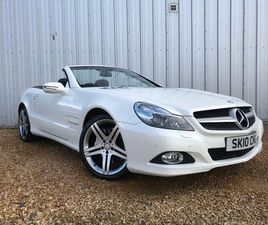 MERCEDES-BENZ SL CLASS 3.5 SL350 7G-TRONIC 2DRAS NEW + FULL MERCEDES HISTORY