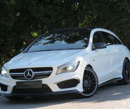 MERCEDES-BENZ CLA CLASS 2.0 CLA45 AMG SHOOTING BRAKE SPEEDSHIFT DCT 4MATIC (S/S) 5DR>