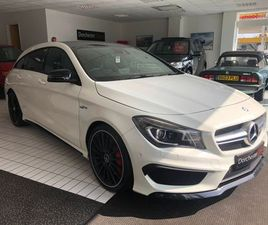 £27,499 | MERCEDES-BENZ CLA CLASS 2.0 CLA45 AMG SHOOTING BRAKE SPEEDSHIFT DCT 4MATIC (S