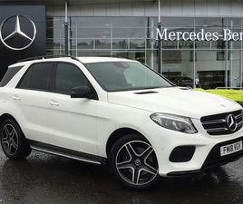 2018 MERCEDES-BENZ GLE GLE 250D 4MATIC AMG NIGHT EDITION 5DR 9G-TRONIC