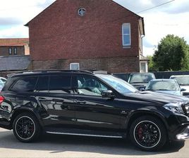 MERCEDES-BENZ GLS CLASS 5.5 GLS63 V8 AMG SPDS+7GT 4MATIC (S/S) 5DRVERY HIGH SPEC Â¿ EVERY