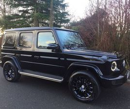 MERCEDES-BENZ G CLASS 3.0 G350D AMG LINE G-TRONIC+ 4WD (S/S) 5DRBURMESTER EXCLUSIVE PACK V