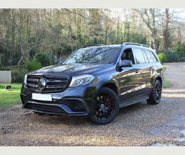 MERCEDES-BENZ GLS CLASS 5.5 GLS63 V8 AMG SPDS+7GT 4MATIC (S/S) 5DRHUGE SPECIFICATION, 1 ON