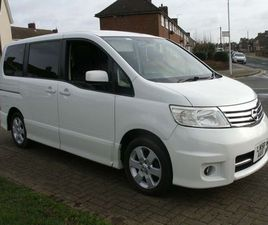 £5,495 | NISSAN SERENA 2.0 AUTOMATIC 8 SEATER HIGHWAY STAR 5DR