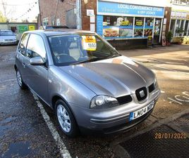 SEAT AROSA 1.4 S 3DRONLY 1 FORMER KEEPER