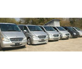 MERCEDES VIANO VITO CAMPER. MILES FROM 8K. BEST CHOICE OF MORE THAN 30 IN STOCK