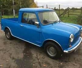 1981 RARE AUSTIN MORRIS MINI PICKUP PAGEANT BLUE 1.0L MANUAL X REG CLASSIC CARS