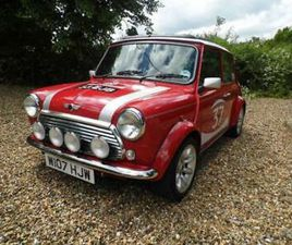 2000 AUSTIN ROVER MINI COOPER S WORKS SOLAR RED SIGNED AUTOGRAPHED CLASSIC CARS