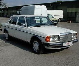 MERCEDES BENZ W123 230E AUTO - AIR CON - RHD - COLLECTOR QUALITY CHOICE OF CARS!