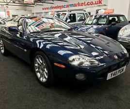 2001 JAGUAR XKR 4.0 SUPERCHARGED AUTOMATIC CONVERTIBLE CONVERTIBLE PETROL AUTOMA